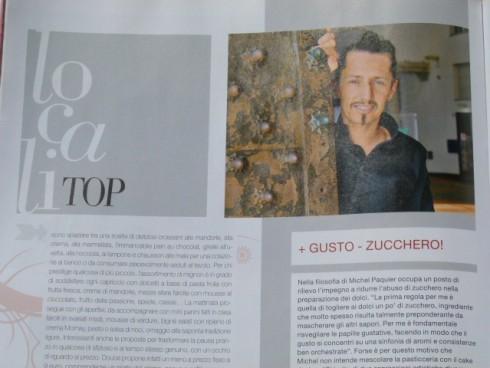 Michel sulla rivista