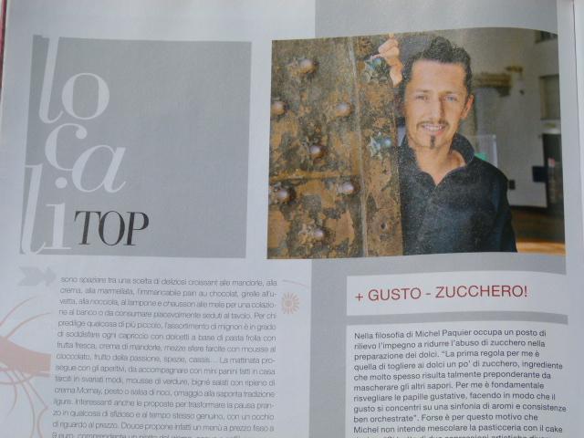 """Douce presentato sulla rivista """"Il pasticcere"""" fra i locali top"""