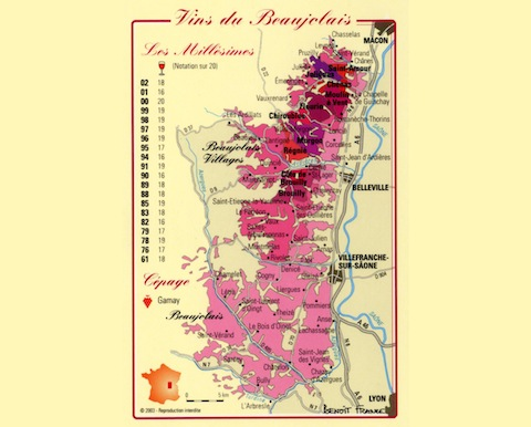 Fête du Beaujolais Nouveau 2012
