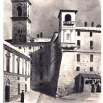Domenico Cambiaso - Piazza dei funghi
