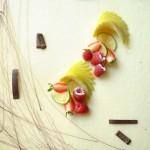 Torta vaniglia e frutta