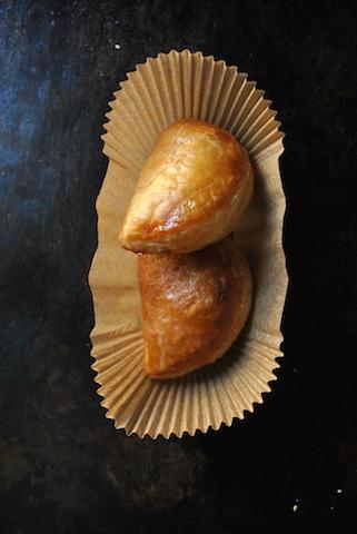 La sfoglia con crema pasticcera alla vaniglia