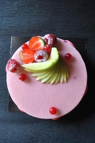 La torta Charlotte
