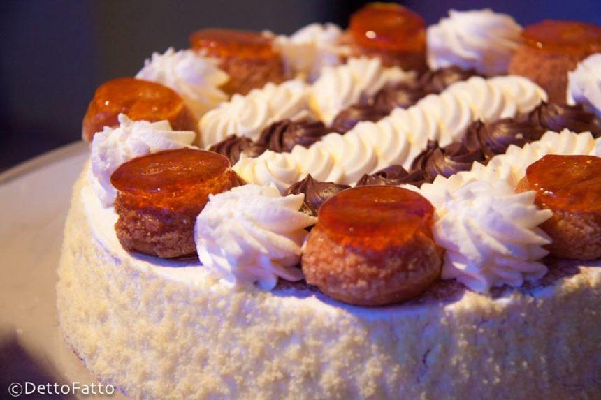 La torta Saint Honoré a Detto Fatto