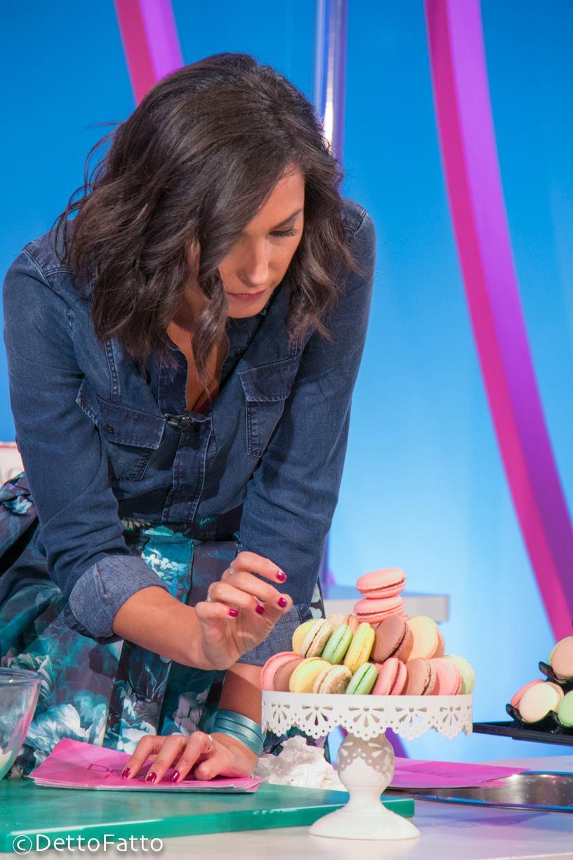 Caterina Balivo e i macarons