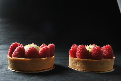 La tartellette ai lamponi e vaniglia