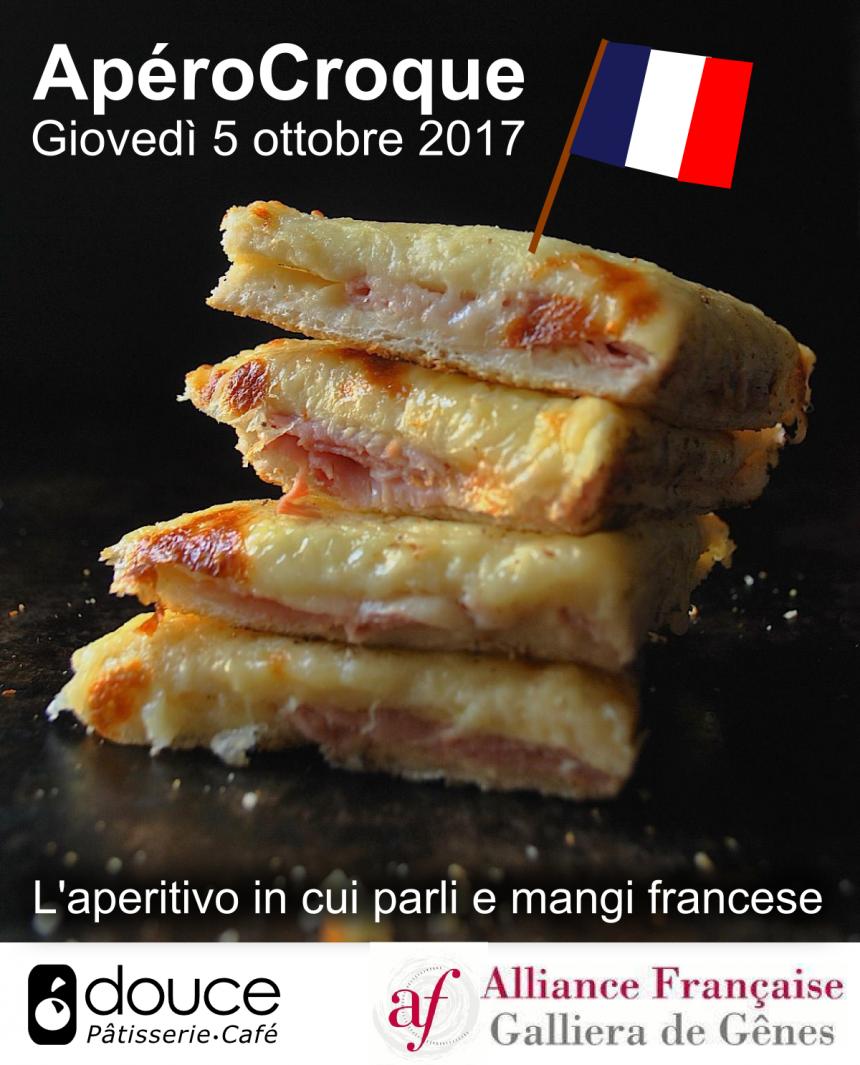 Torna ApéroCroque: l'aperitivo in francese con Alliance française
