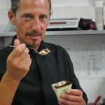 Michel Paquier prova il tiramisù