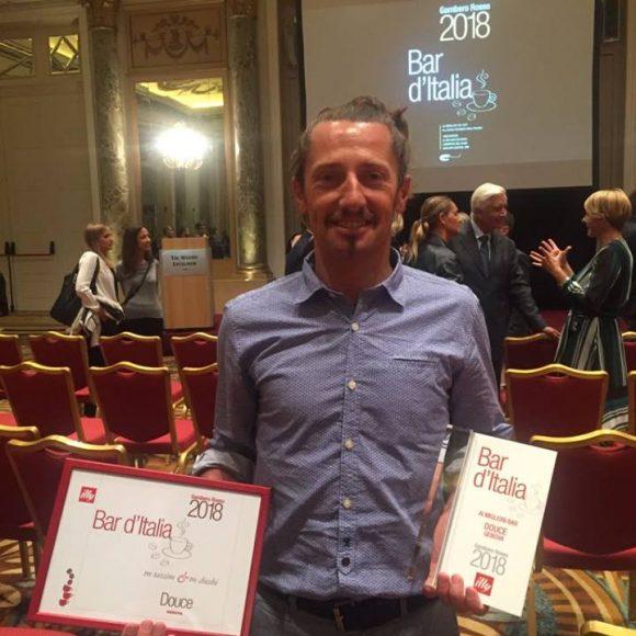 Il Gambero Rosso conferma Douce fra i migliori bar d'Italia 2018
