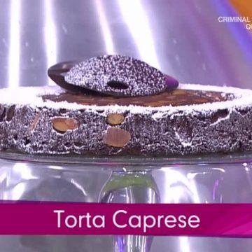 La torta caprese a Detto Fatto