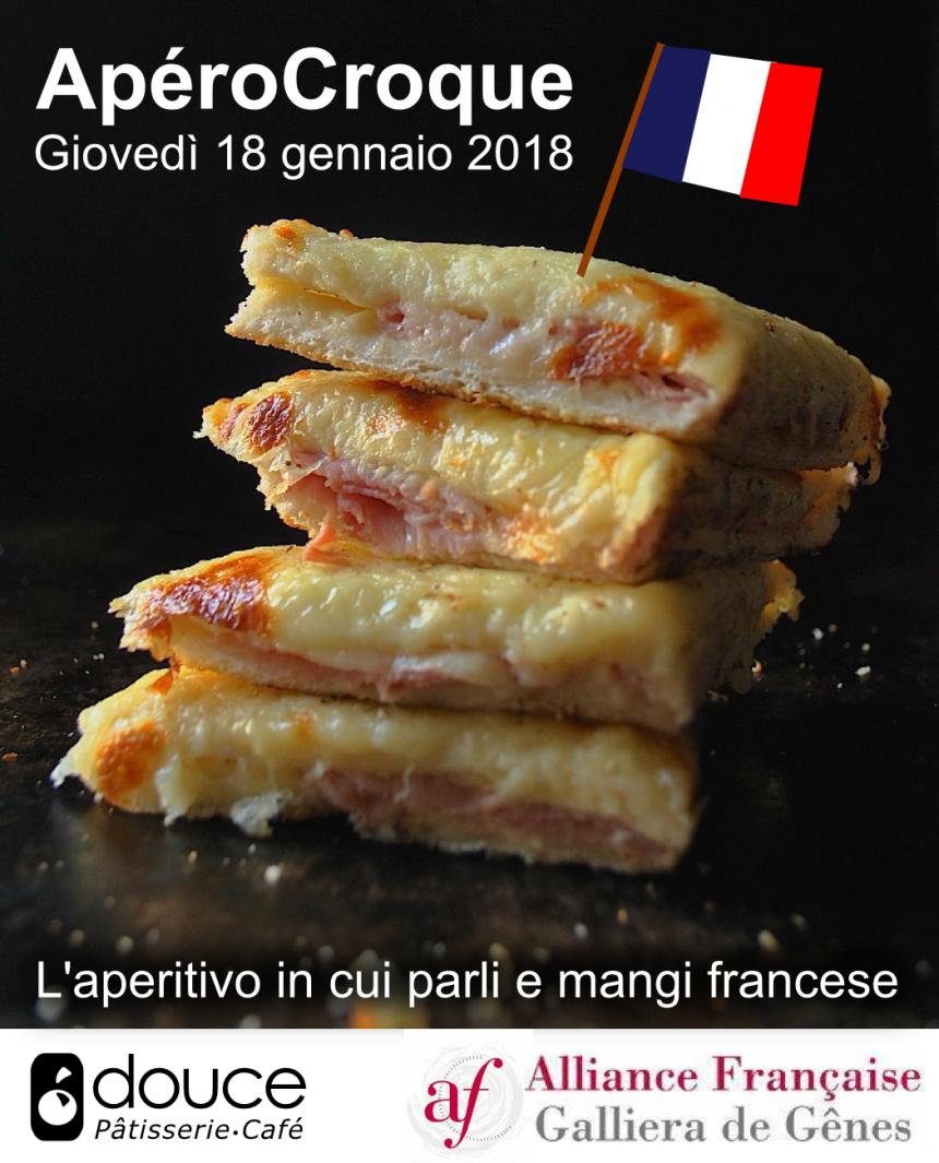 ApéroCroque: aperitivo francese del 16 gennaio 2018