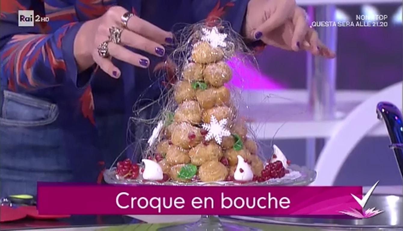 Tronchetto Di Natale Detto Fatto 2019.Il Croque En Bouche A Detto Fatto