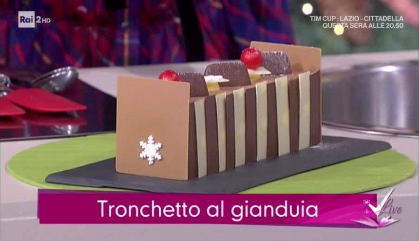 Tronchetto al Gianduia a Detto Fatto