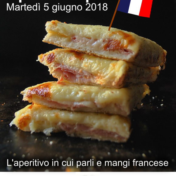 ApéroCroque: aperitivo francese del 5 giugno 2018