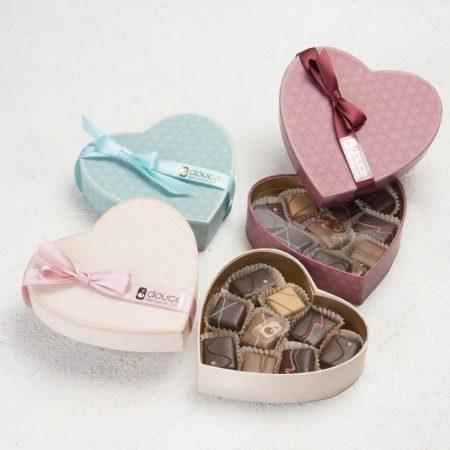 Cuore di cioccolatini