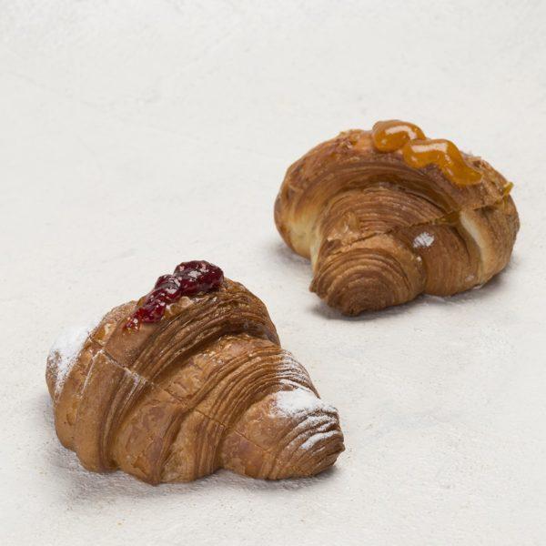 Croissant alla marmellata