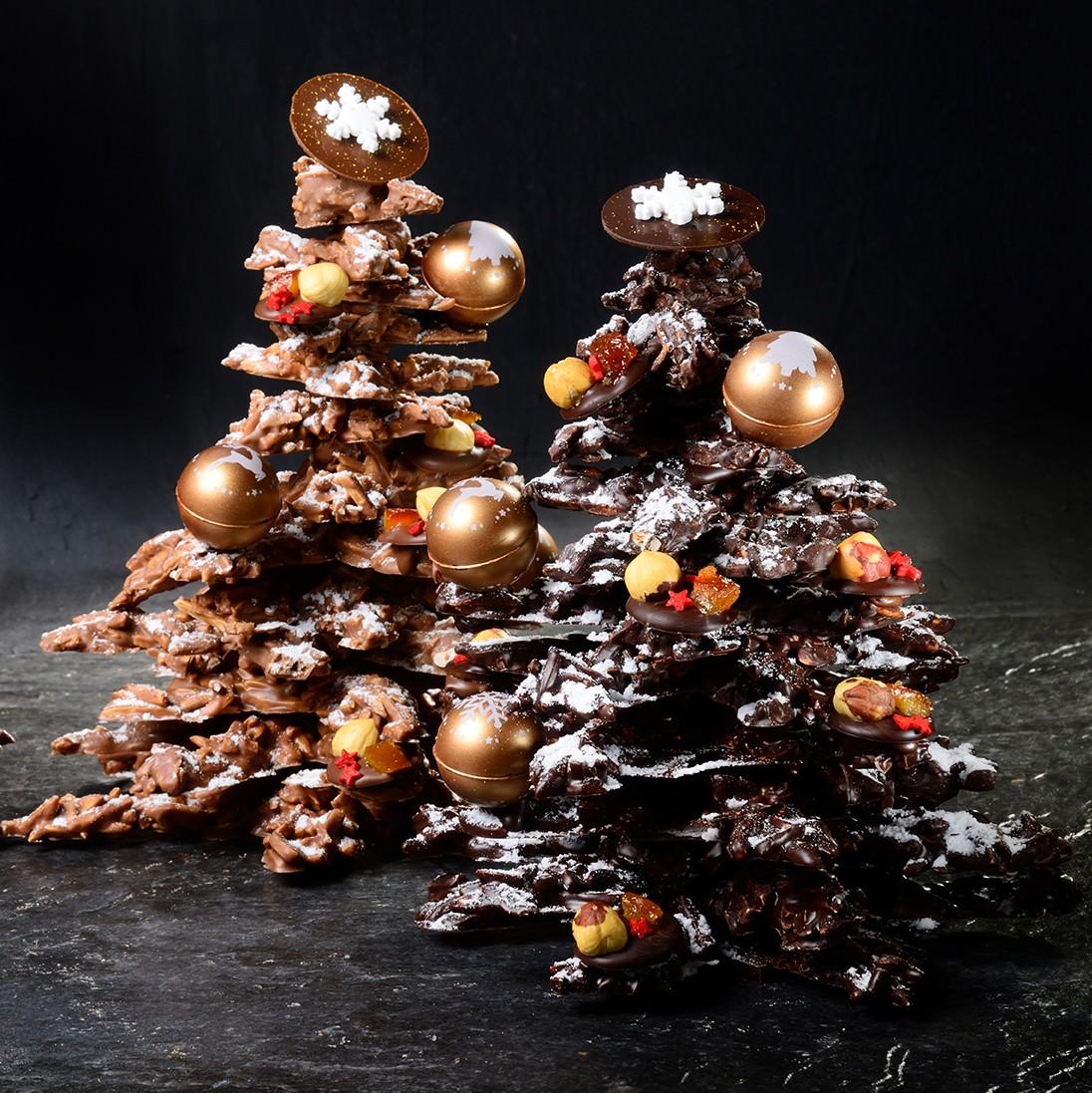 Foto Di Natale Albero.Albero Di Natale Di Cioccolato