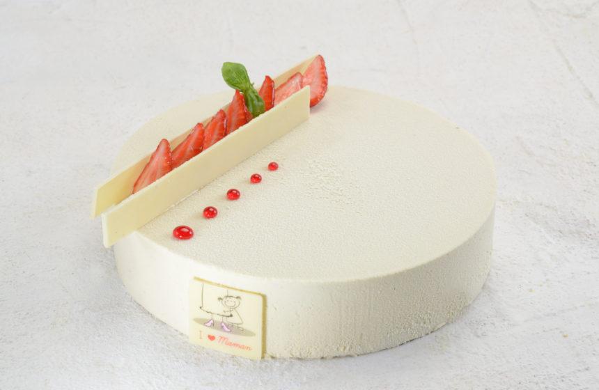 La torta Fraise Basilic per la Festa della Mamma 2019