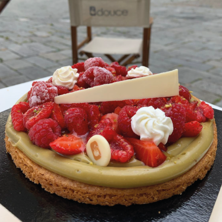 tarte fruits rouge
